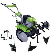 Motosapa BSR G 900-GD 17 Transmisie fonta, freze 1200mm, Ghidon reglabil, Roti cauciuc mari 400-10 , Rarita fixa,Plug arat,Rarita reglabila,Prasitoare