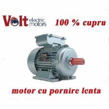 Motor electric monofazat Volt Motor 1.1 KW pornire lenta Turatii 1000 RPM cupru